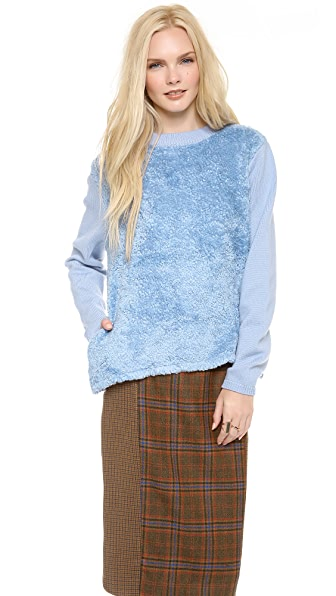 Chloe Sevigny for Opening Ceremony Fuzzy Pullover