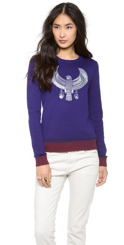 Chloe Sevigny for Opening Ceremony Hawk Sweater at Shopbop / East Dane