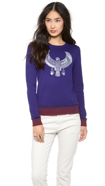 Chloe Sevigny for Opening Ceremony Hawk Sweater