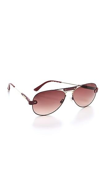 Chloe Tamaris Aviator Sunglasses