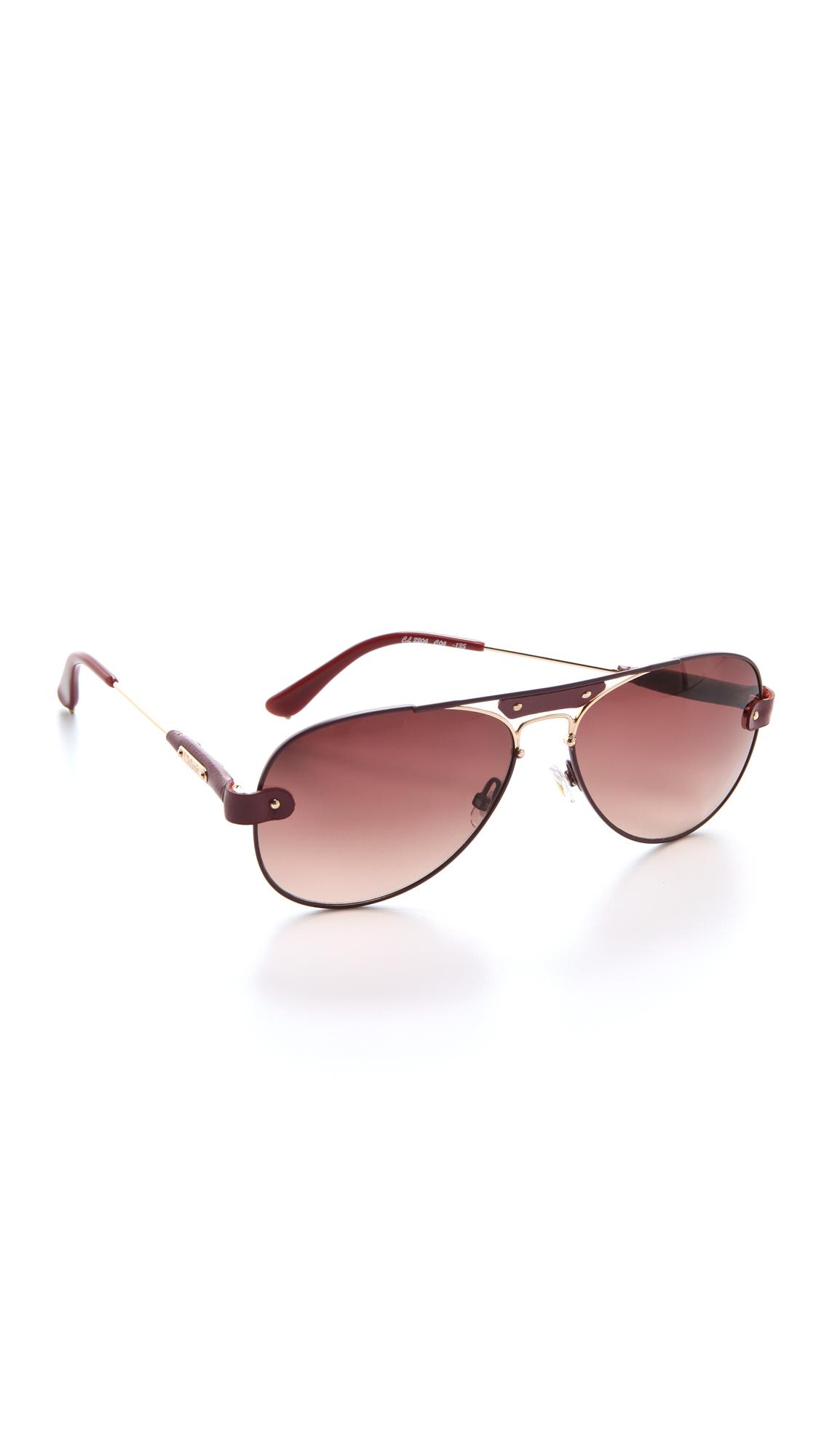 c0ec30495e33 Chloe Tamaris Aviator Sunglasses on PopScreen