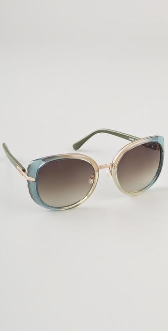 Chloe Amaryllis Cats Eye Sunglasses