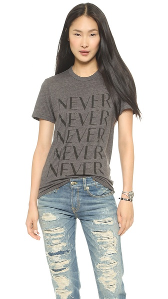 CHRLDR Never T-Shirt