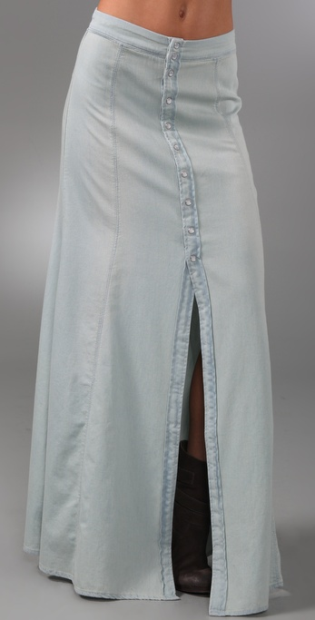 CHARLEY 5.0 - Barefoot In the Sand Long Skirt from shopbop.com