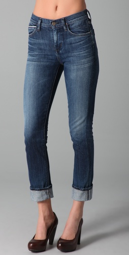 Citizens of Humanity Mandy Skinny Roll Up Jeans