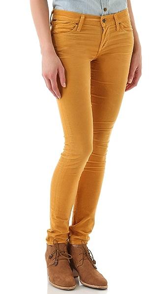 Citizens of Humanity Avedon Velour Skinny Pants