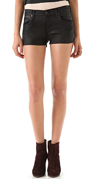 Citizens of Humanity Mandy Coated Denim Shorts