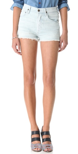 Buy high waisted shorts - Citizens of Humanity Chloe High Waist Shorts