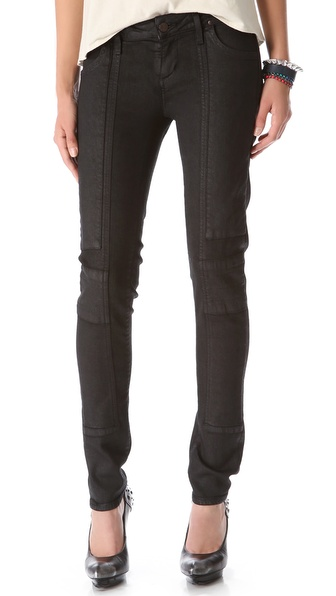 Citizens of Humanity Logan Sueded Moto Jeans