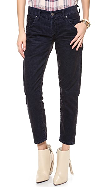 Citizens of Humanity Skyler Crop Corduroy Pants