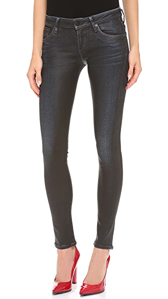 Citizens of Humanity Racer Leatherette Skinny Jeans