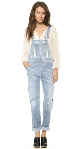 Citizens Of Humanity The Quincey Overalls - Sun Bleach at Shopbop / East Dane
