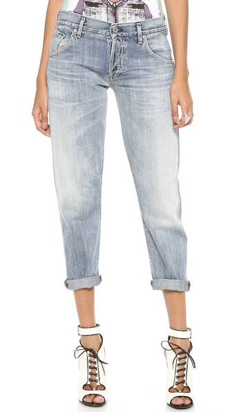 Citizens Of Humanity Premium Vintage Skyler Crop Jeans - Archive at Shopbop / East Dane