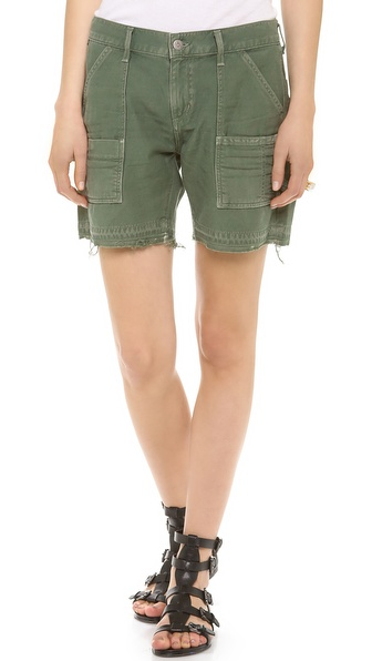 Citizens Of Humanity The Leah Shorts - Fatigue at Shopbop / East Dane