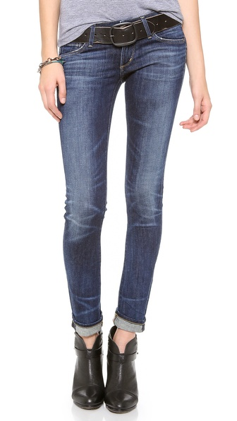 Citizens Of Humanity Racer Lowrise Skinny Jeans - Patina at Shopbop / East Dane