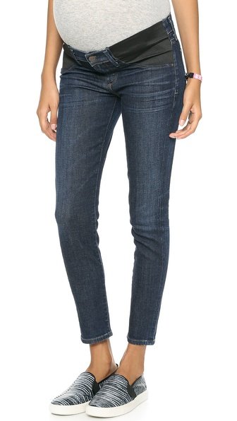 Citizens Of Humanity Avedon Cropped Ultra Skinny Below The Belly Band Jeans - Icon at Shopbop / East Dane
