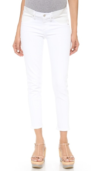 Citizens Of Humanity Avedon Below The Belly Ultra Ankle Skinny Jeans - Optic White at Shopbop / East Dane