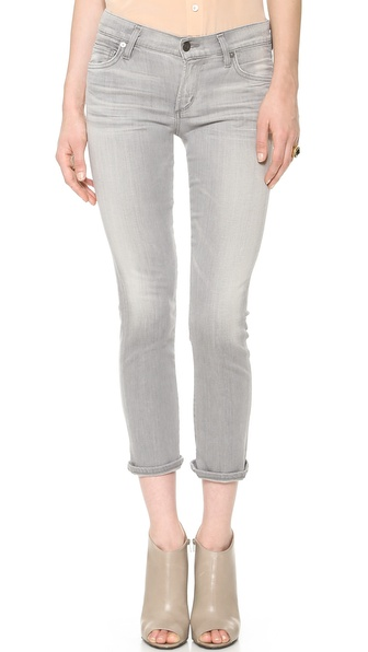 Citizens Of Humanity Phoebe Skinny Cropped Jeans - Pretender at Shopbop / East Dane