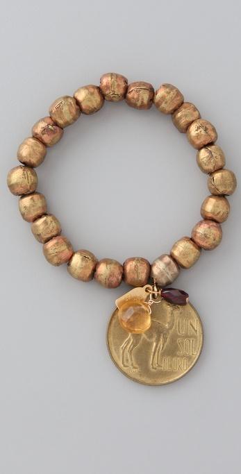 Citrine by the Stones Bead Bracelet