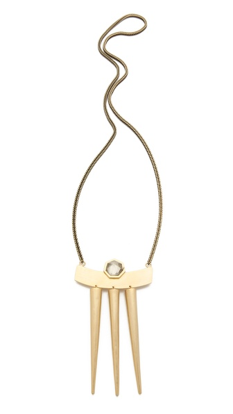 Citrine by the Stones Luz Pendant Necklace