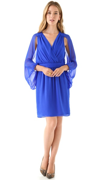 Charlie Jade Silk Chiffon Dress