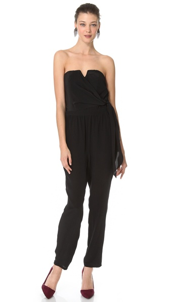 Charlie Jade Strapless Jumpsuit