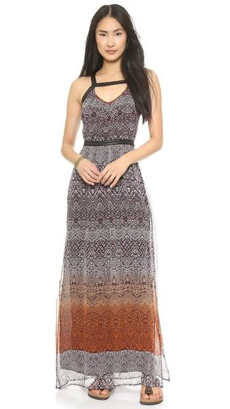 Charlie Jade Print Maxi Dress