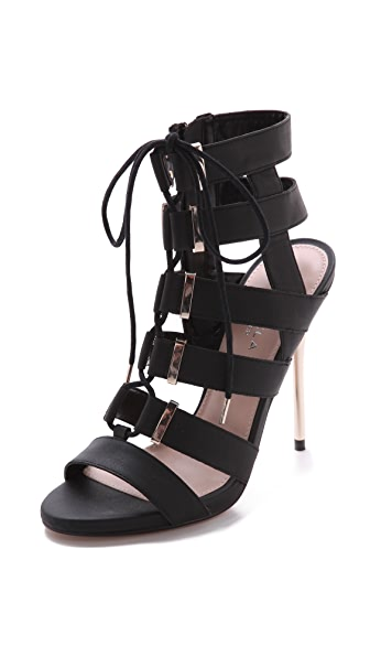 Carvela Kurt Geiger Gladiator Lace Up Sandals