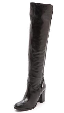 Carvela Kurt Geiger Wooden Knee High 50/50 Boots