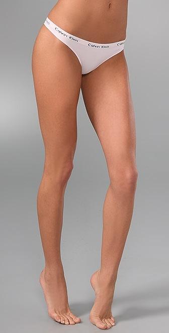 Calvin Klein Underwear Seamless Edge String Thong