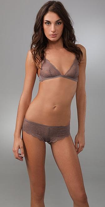 Calvin Klein Underwear Envy Lace Triangle Bra
