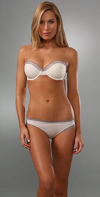 Calvin Klein Underwear Perfectly Fit Flirty Strapless Push Up Bra