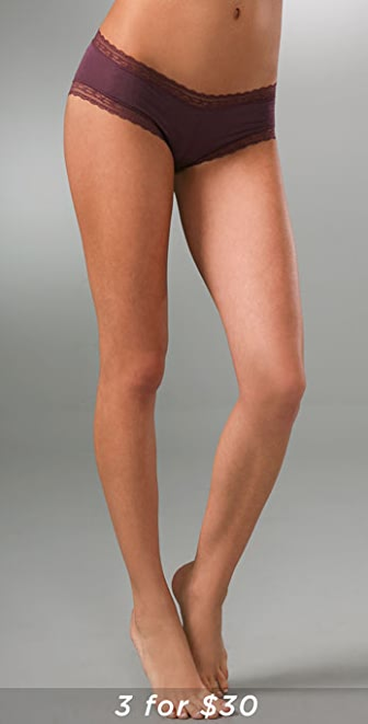 Calvin Klein Underwear Modal Lace Cheeky Hipster