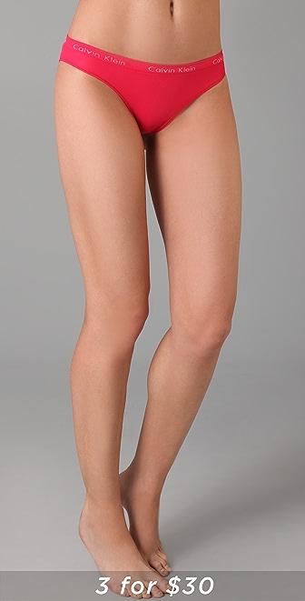 Calvin Klein Underwear Seamless Edge Tanga Briefs