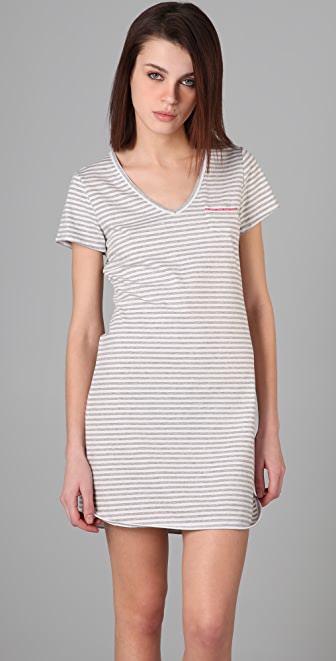 Calvin Klein Underwear CK One Striped Nightdress