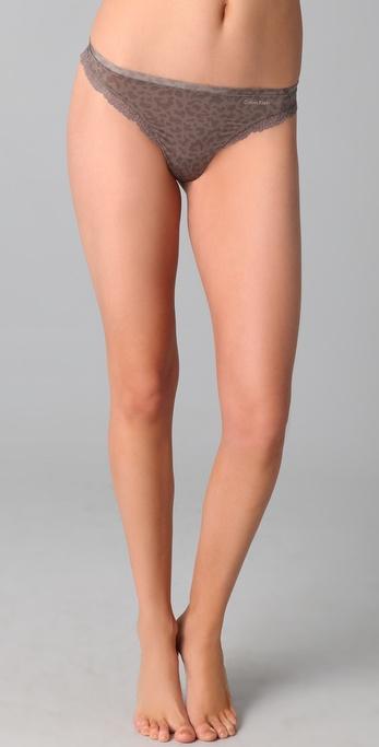 Calvin Klein Underwear Seductive Comfort Thong