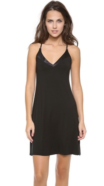 Calvin Klein Underwear Essentials with Satin V-Neck Chemise