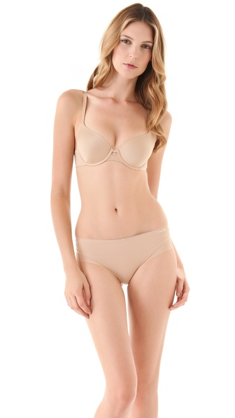 Calvin Klein Underwear New Tailored Basic Demi Bra