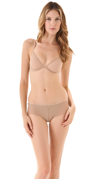 Calvin Klein Underwear New Lace Basic Underwire Bra