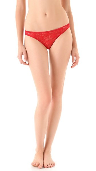 Calvin Klein Underwear New Lace Basic Bikini Briefs