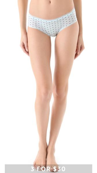 Calvin Klein Underwear Naked Glamour Hipster Briefs