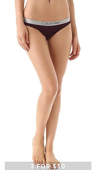 Calvin Klein Underwear Chrome Micro Bikini Briefs