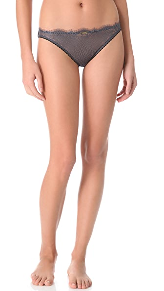 Calvin Klein Underwear Eyelash Chantilly Lace Bikini Briefs
