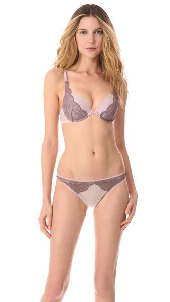 Calvin Klein Underwear Naked Glamour Convertible Push Up Bra