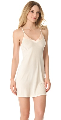 Calvin Klein Underwear Essentials with Satin V Neck Chemise