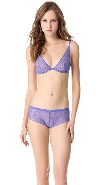 Calvin Klein Underwear Naked Glamour Convertible Lace Plunge Bra