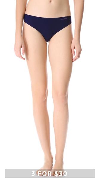 Calvin Klein Underwear Invisibles Thong