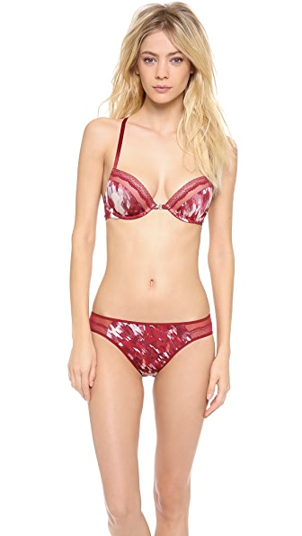 Calvin Klein Underwear Compel Flirty Lace Push Up Bra