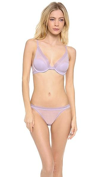 Calvin Klein Underwear Icon Provocative Plunge Bra