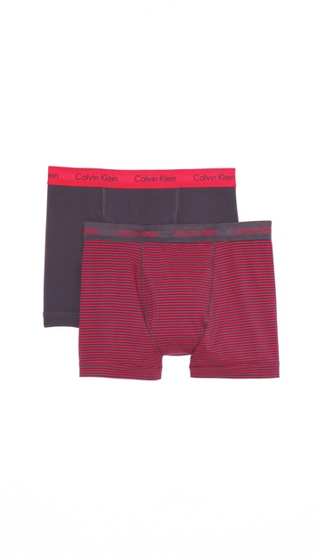 Calvin Klein Underwear 2 Pack Trunks